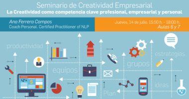 Foto de - Seminario de Creatividad Empresarial: La Creatividad como competencia clave profesional, empresarial y personal