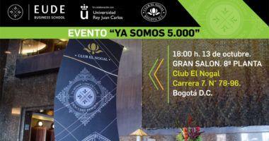 Foto de - Evento 'Ya somos más de 5.000' – Club El Nogal Colombia